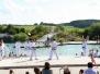 Juli: Vorführung im Naturfreibad Fischach